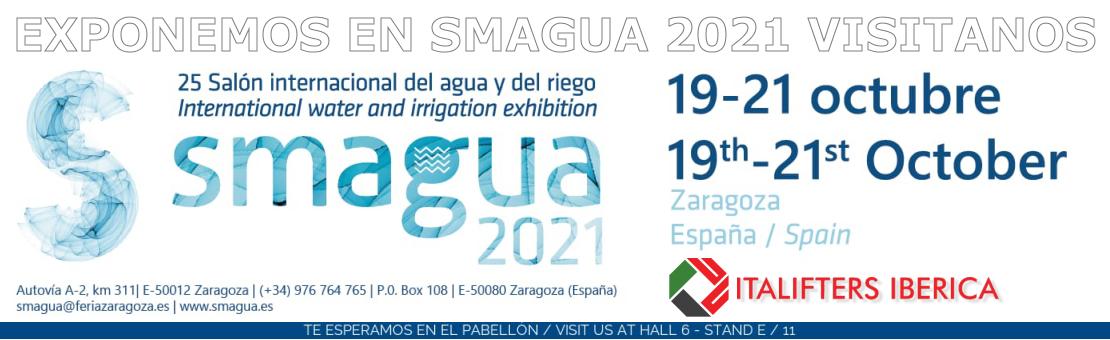 Exponemos en SMAgua 2021 (Feria Zaragoza)